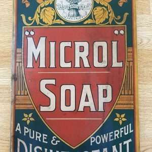 1930's Labor and Wait Microl Soap Sign